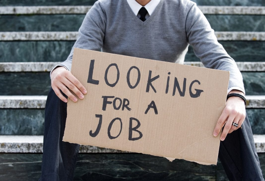 The no. of Jobless People increased with the number of the infected people crossed 1 Million
