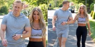 Kris Boyson And Bianca Gascoigne Took A COVID-19 Lockdown Stroll