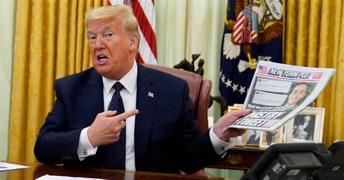 Trump Signs Decree Limiting Legal Protections On Social Media