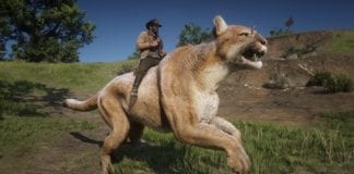 Red Dead Redemption 2 Mod Adds Giant Cougar (That You Can Ride)