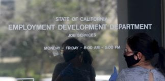 California records the highest ever monthly job loss as the unemployment rate hits 15.5% in April.